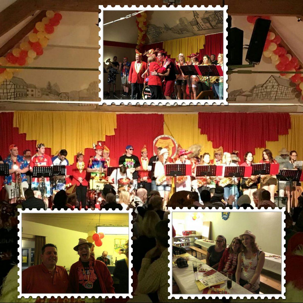 Prunksitzung und Ordensfest 2017/2018 unserer Karnevalsfreunde KG Rot-Gold Niederbachem